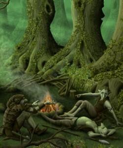 goblin-campfire